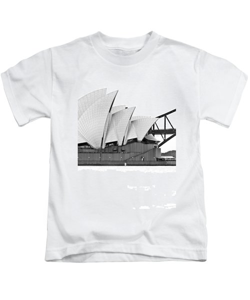 Bird On The Harbour Kids T-Shirt
