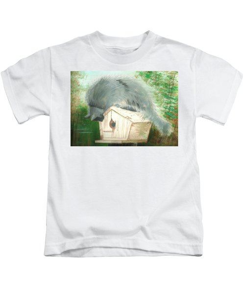 Birdie In The Hole Kids T-Shirt