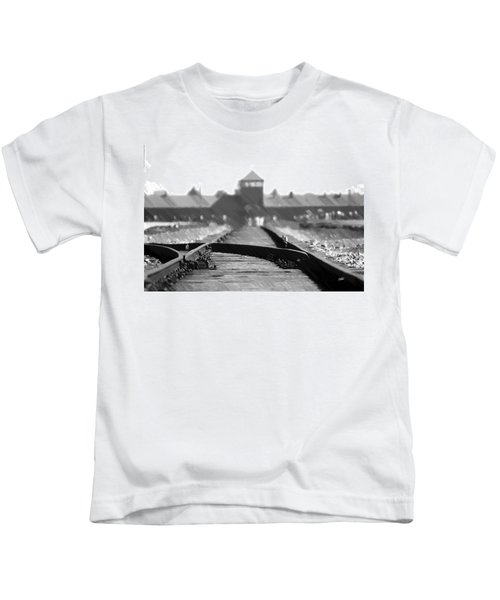 Birkenau / Auschwitz Railhead - Pol402324 Kids T-Shirt