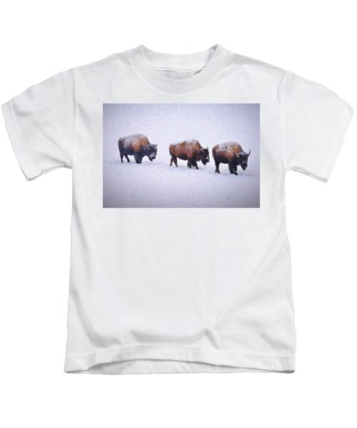 Bison March Impressions Kids T-Shirt