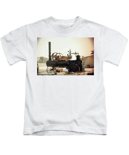 Black And Glorious Steam Machine Kids T-Shirt