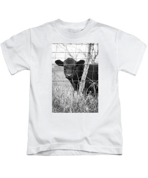 Black Angus Calf Kids T-Shirt