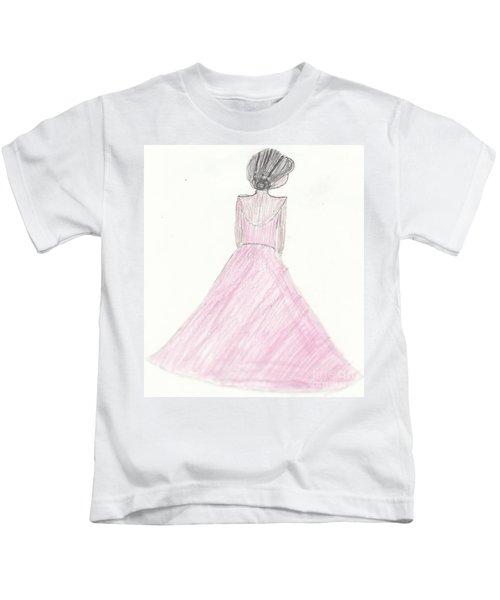 Black Ballerina Kids T-Shirt