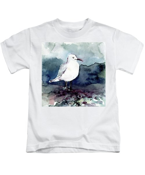 Black-billed Gull Kids T-Shirt