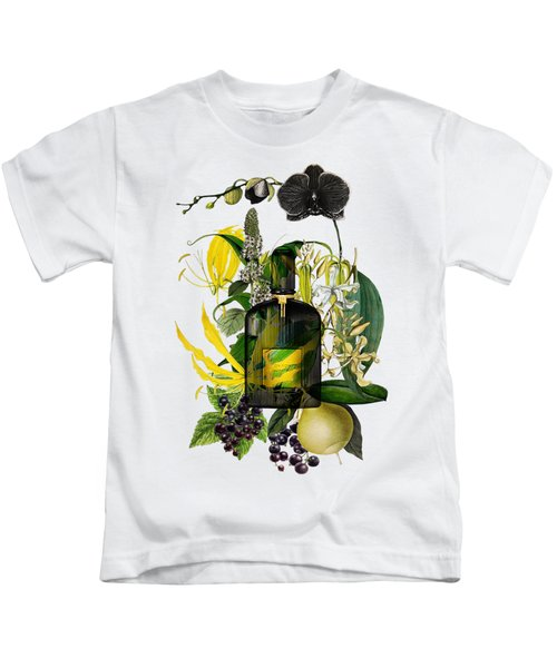 Black Orchid Notes - By Diana Van Kids T-Shirt