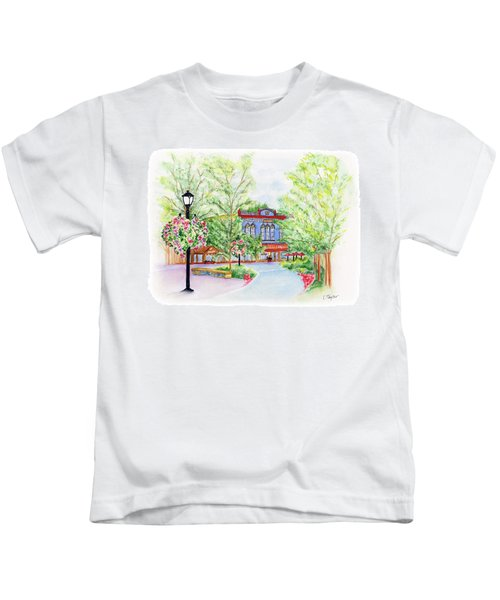 Black Sheep On The Plaza Kids T-Shirt