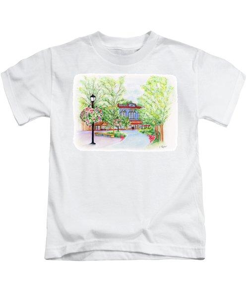 Black Sheep On The Plaza Kids T-Shirt
