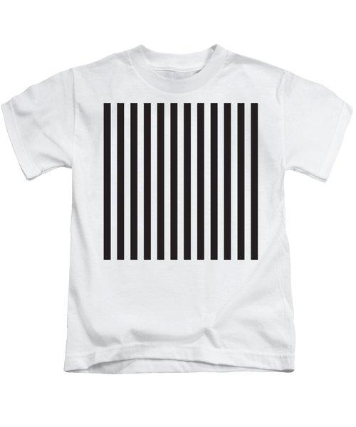 Black Stripes Kids T-Shirt