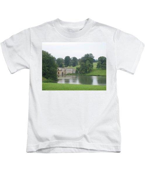 Blenheim Palace Lake Kids T-Shirt