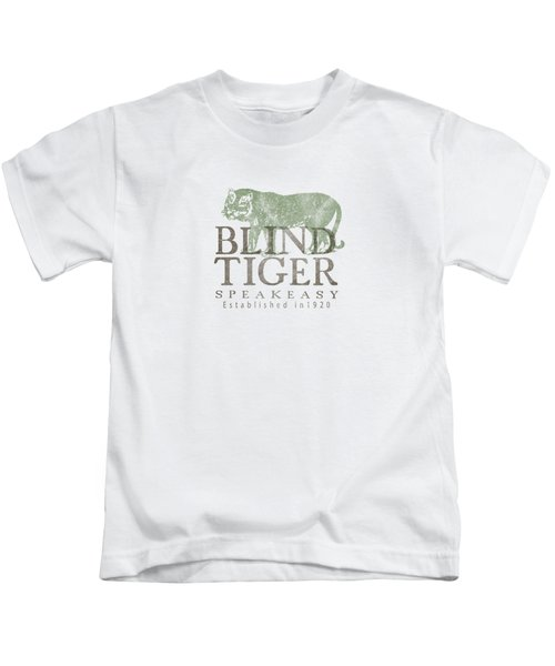 Blind Tiger Speakeasy Tee Kids T-Shirt