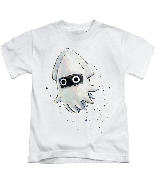 Blooper Watercolor Kids T-Shirt