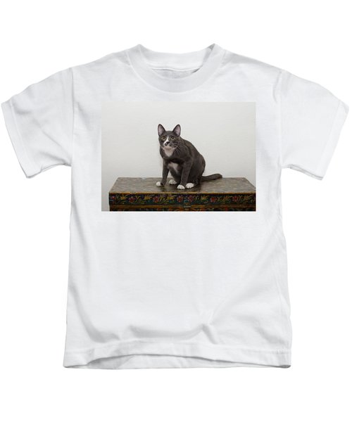 Blue 1 Kids T-Shirt
