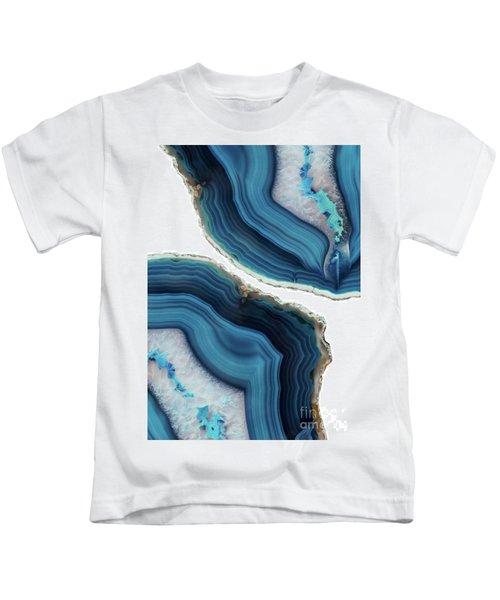 Blue Agate Kids T-Shirt