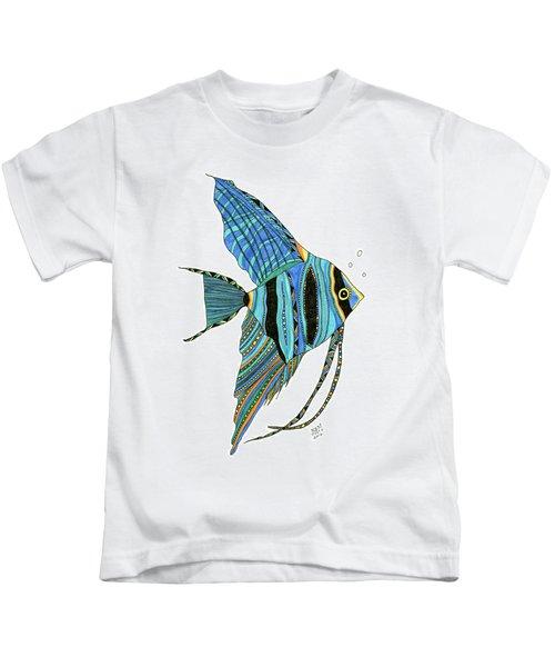 Blue Anglefish Kids T-Shirt