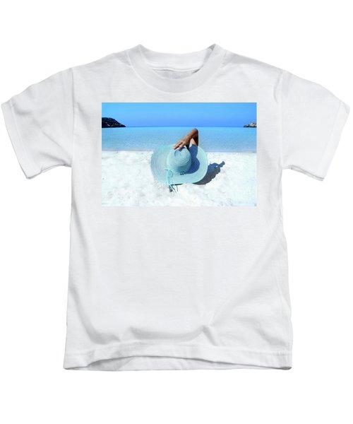 Blue Beach Kids T-Shirt