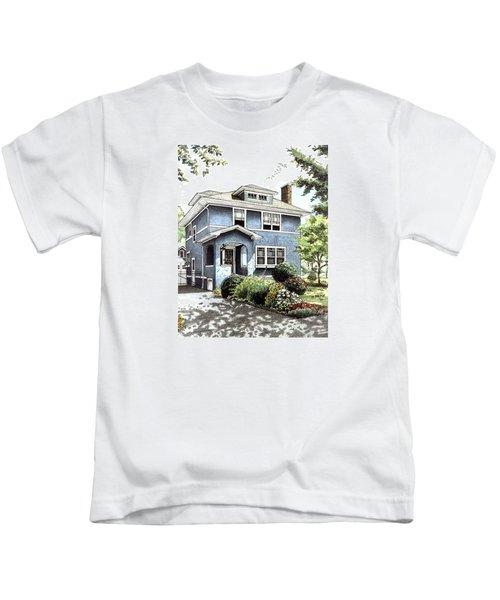 Blue House Kids T-Shirt