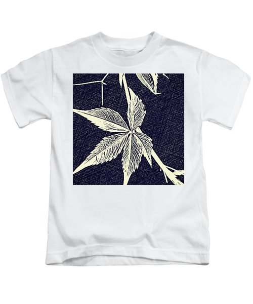 Blue Leaf Kids T-Shirt