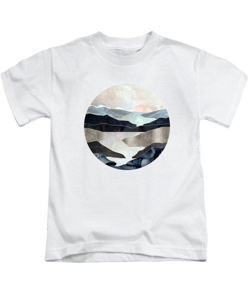 Blue Mountain Lake Kids T-Shirt