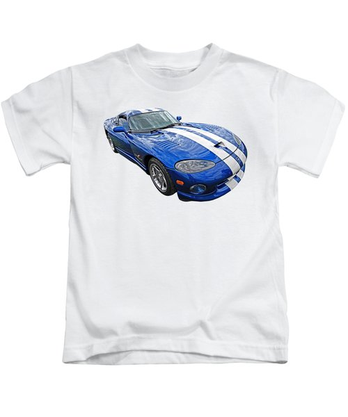 Blue Viper Kids T-Shirt