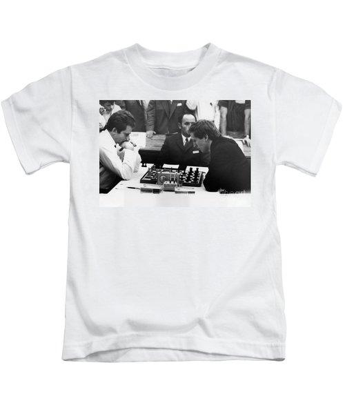 Bobby Fischer (1943-2008) Kids T-Shirt