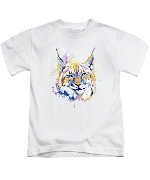 Bobcat Head Kids T-Shirt