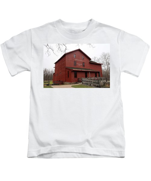 Bonneyville Mill Indiana 1832 Kids T-Shirt
