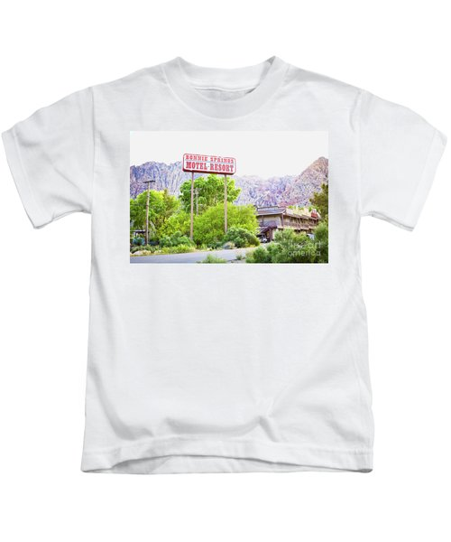 Bonnie Springs Motel Resort Kids T-Shirt