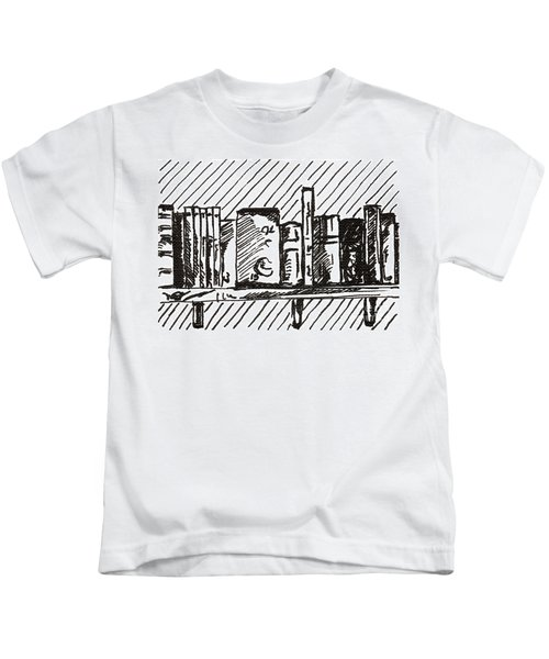 Bookshelf 1 2015 - Aceo Kids T-Shirt