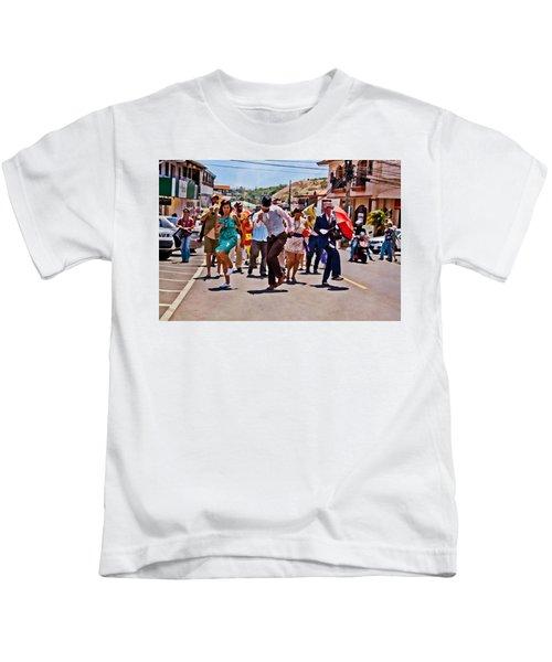 Boquete Jazz Festival 2012 Kids T-Shirt