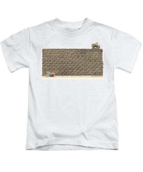 Border Wall Kids T-Shirt