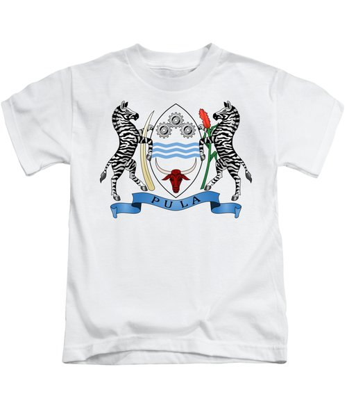 Botswana Coat Of Arms Kids T-Shirt