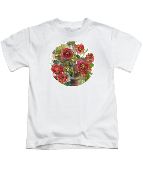Bouquet Of Poppies Kids T-Shirt