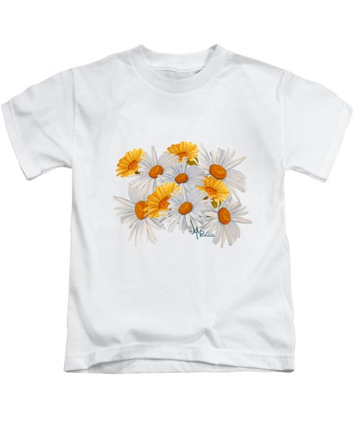 Bouquet Of Wild Flowers Kids T-Shirt
