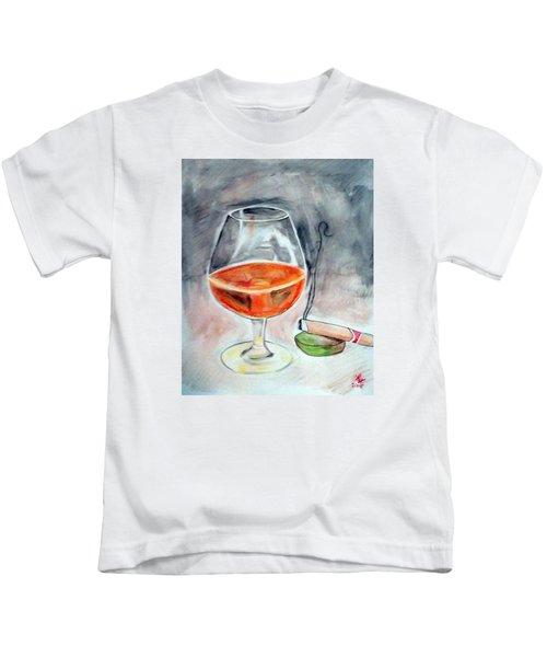 Bourbon And Smoke Kids T-Shirt