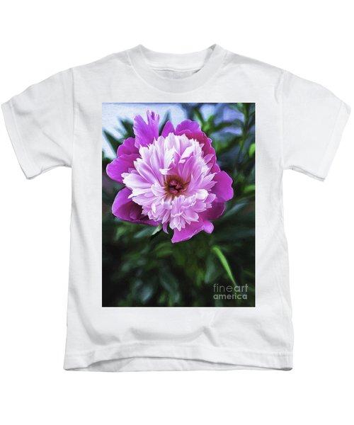Bowl Of Beauty Kids T-Shirt