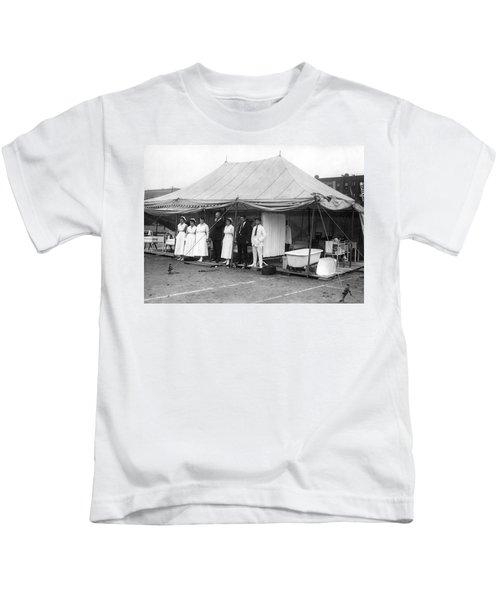 Boxing Match Field Hospital Kids T-Shirt