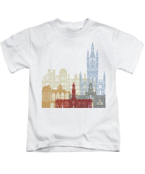 Bradford Skyline Poster Kids T-Shirt