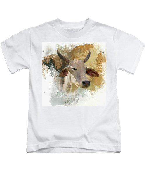 Brahma Portrait Kids T-Shirt