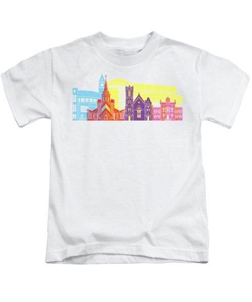 Brampton Skyline Pop Kids T-Shirt