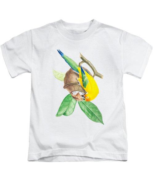 Brazilian Parrot Kids T-Shirt
