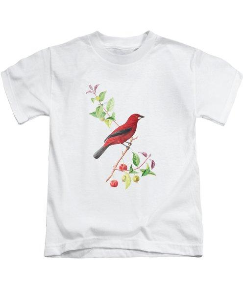 Brazilian Tanager Kids T-Shirt