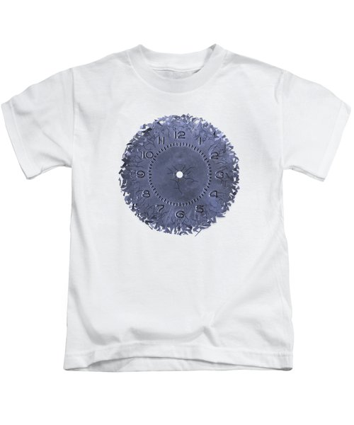 Breaking Apart Of The Old Clock Face Kids T-Shirt