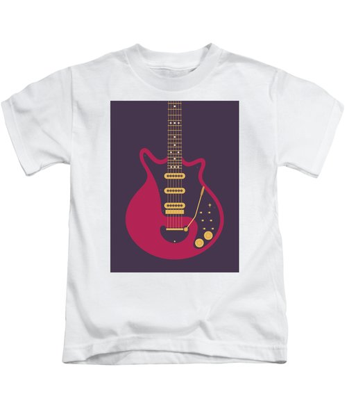 Red Special Guitar - Black Kids T-Shirt