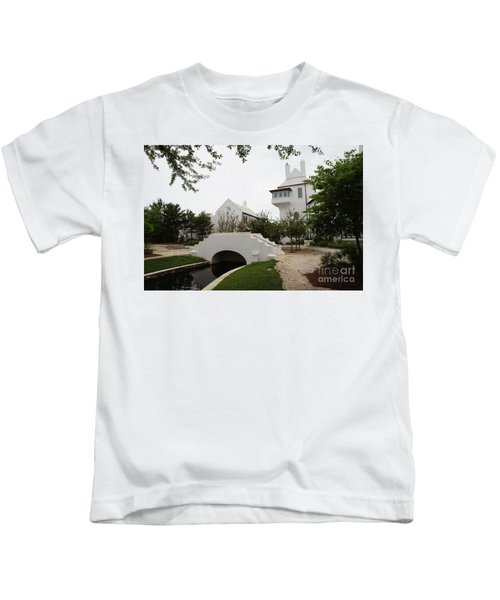 Bridge In Alys Beach Kids T-Shirt