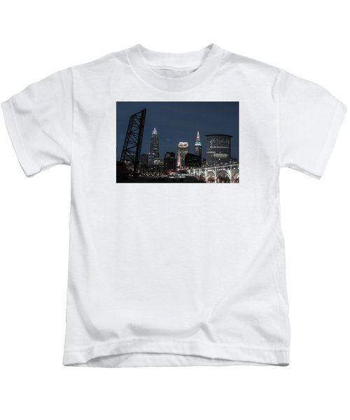 Bridges And Buildings Kids T-Shirt