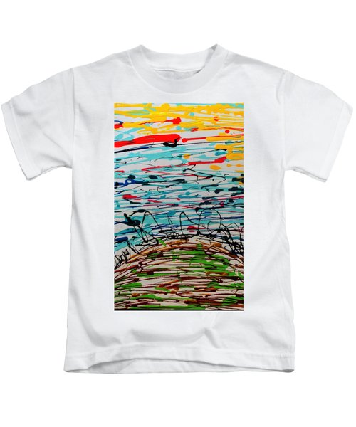 Brighter Day 1 Of 2 Kids T-Shirt