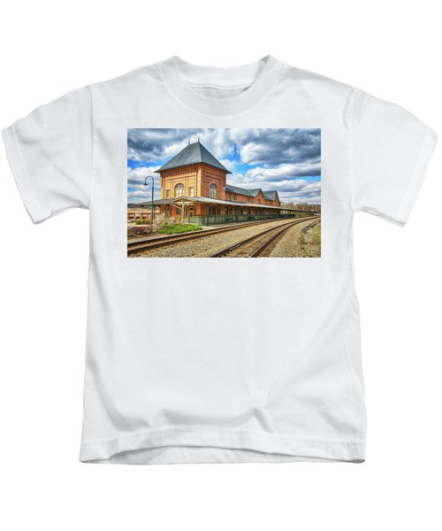Bristol Train Station Kids T-Shirt