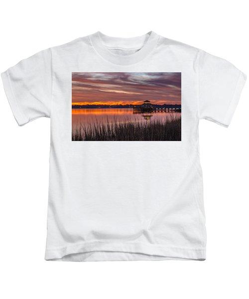 Brittlebank Park Dock Charleston Sc Kids T-Shirt
