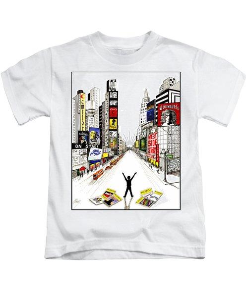 Broadway Dreamin' Kids T-Shirt