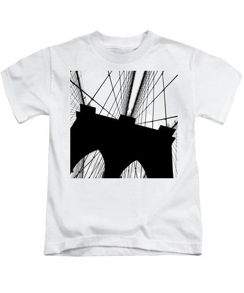 Brooklyn Bridge Architectural View Kids T-Shirt